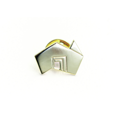 State Brand Gold Lapel Pin