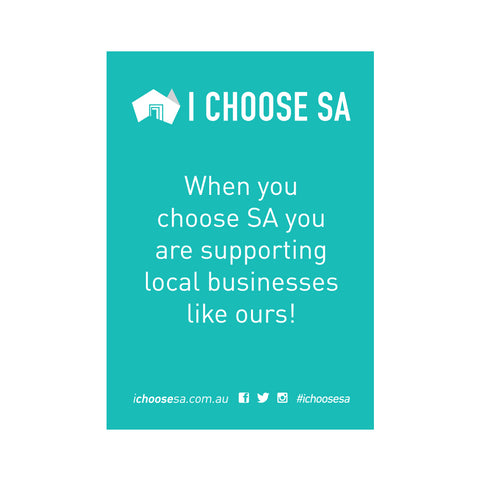 I Choose SA Window Stickers