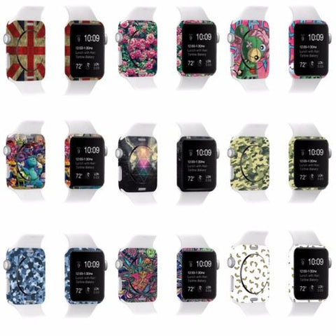 1* Protective Film Skin Cover For Apple Watch iWatch Skin Sticker Decorations