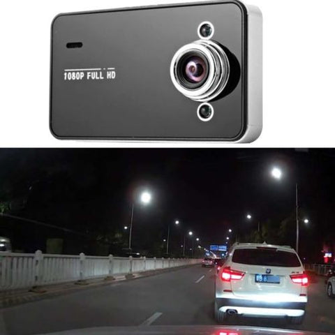 "NEW 1080P Hd 2.4"" LCD Night Vision CCTV In Car DVR Accident Camera  Car Video"