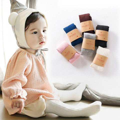 0-5Y Kids Cute Hosiery Pantyhose Pants Stockings Baby Girl Socks Hose Tights