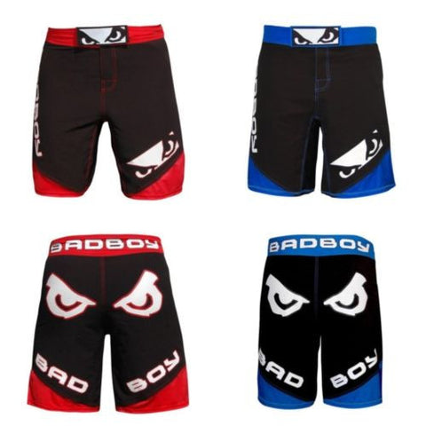 Fear Shorts Bad Boy Pants Sports MMA Muay Thai Fighting Kick boxing Trucks Sport