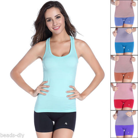1PC Women Shorts Sports Slim Stretch Pants Yoga Solid Running GYM Fitness