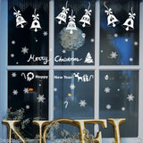 Creative Christmas Wall Window Sticker Removeable Decal Home Party Decor