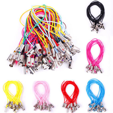100pcs Wholesale New Mobile Phone Dangle Strap String Thread Cord Charm 20Colors