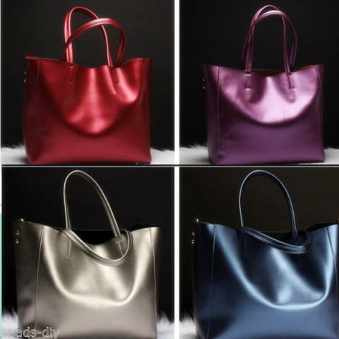 BD Genuine leather bags Women Real leather Handbags Large Shoulder bags