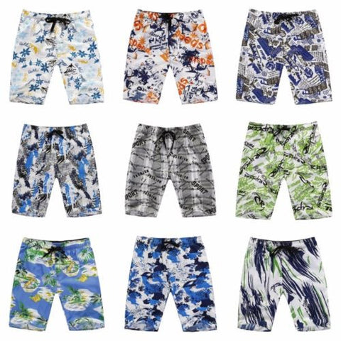 2017 Men's Boardshorts Summer Beach Shorts Loose Short Pants Swimwear