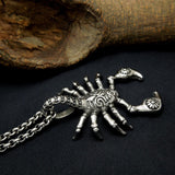 Stainless Steel Scorpion Pendant Necklace Animal Jewelry SP471