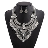 Rhinestone Pendant Alloy Fine Jewelry Vintage Crystal Statement Necklace Maxi Necklaces & Pendants