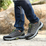 Hiking Shoes ankle rubber sport shoes Non-slip waterproof Hiking shoes walking boot