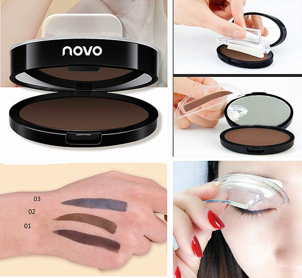 2017 South Korea NOVO seals eyebrow powder stamp seconds