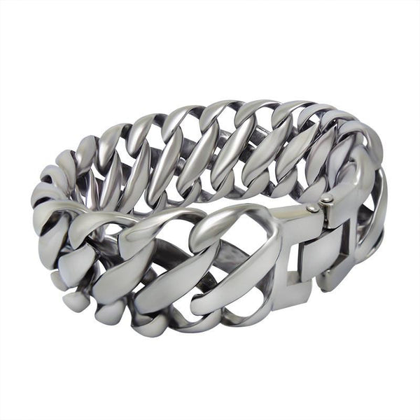 Domineering beautiful mesh wide Bracelet CE115