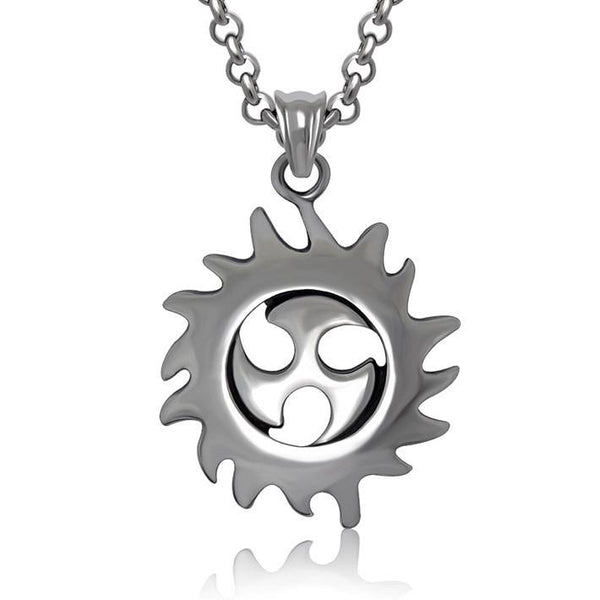Fashion Hot Wheels Shaped Pendant Titanium steel jewelry including chain SP425