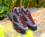 Men Sneakers Leather Outdoor Shoes Mens Sport Waterproof Hiking Shoes