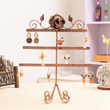 New Arrival 54 Holes Earrings Jewelry Display Useful Rack Metal Stand Holder Showcase Wholesale Vintage Jewelry Rack