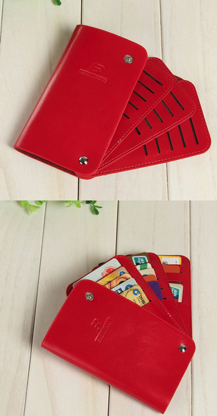 Baellerry Card Holders 30 Cards Unisex Credit Card Holders Business Fashion Solid Card Slots