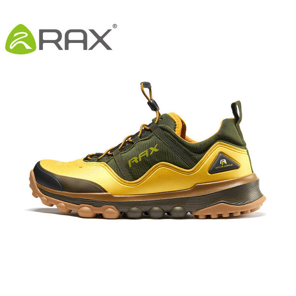 RAX hiking shoes mens women outdoor sports sneakers man breathable antiskid trekking shoes