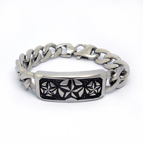 Retro fashion windmill Flower Bracelet Fashion collocation personality Titanium steel jewelry CE438