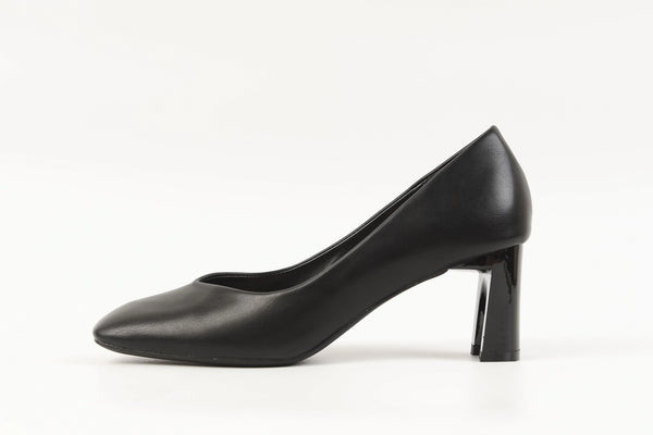 Becca Square Pumps Black