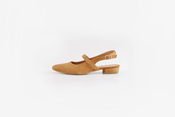 Britt Mary Jane Flats Tan