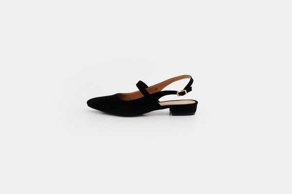 Britt Mary Jane Flats Black