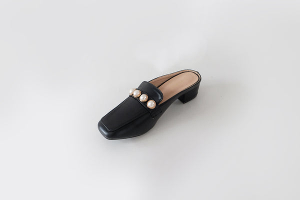 Marni Loafer Mules Black