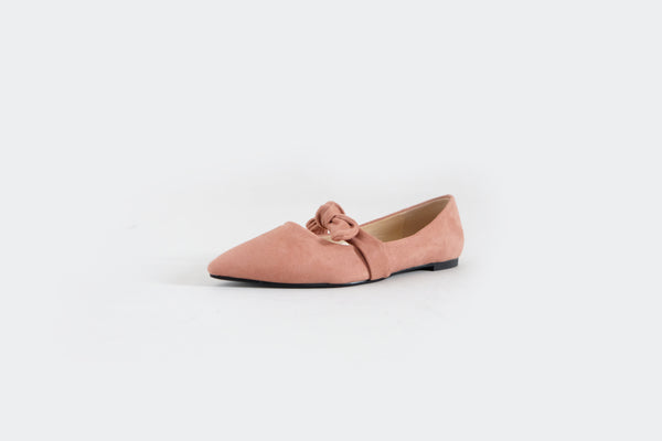 Matilda - Flats with Bow - Pink