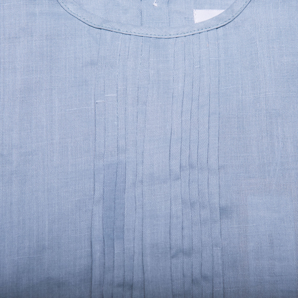 Rachel Dress (Blue Grey Linen)