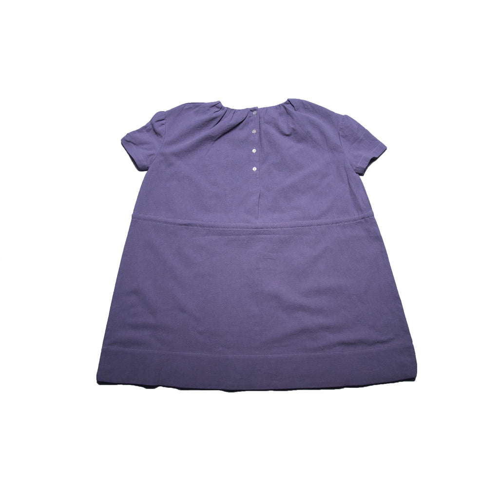 Ren Dress (Purple Linen)