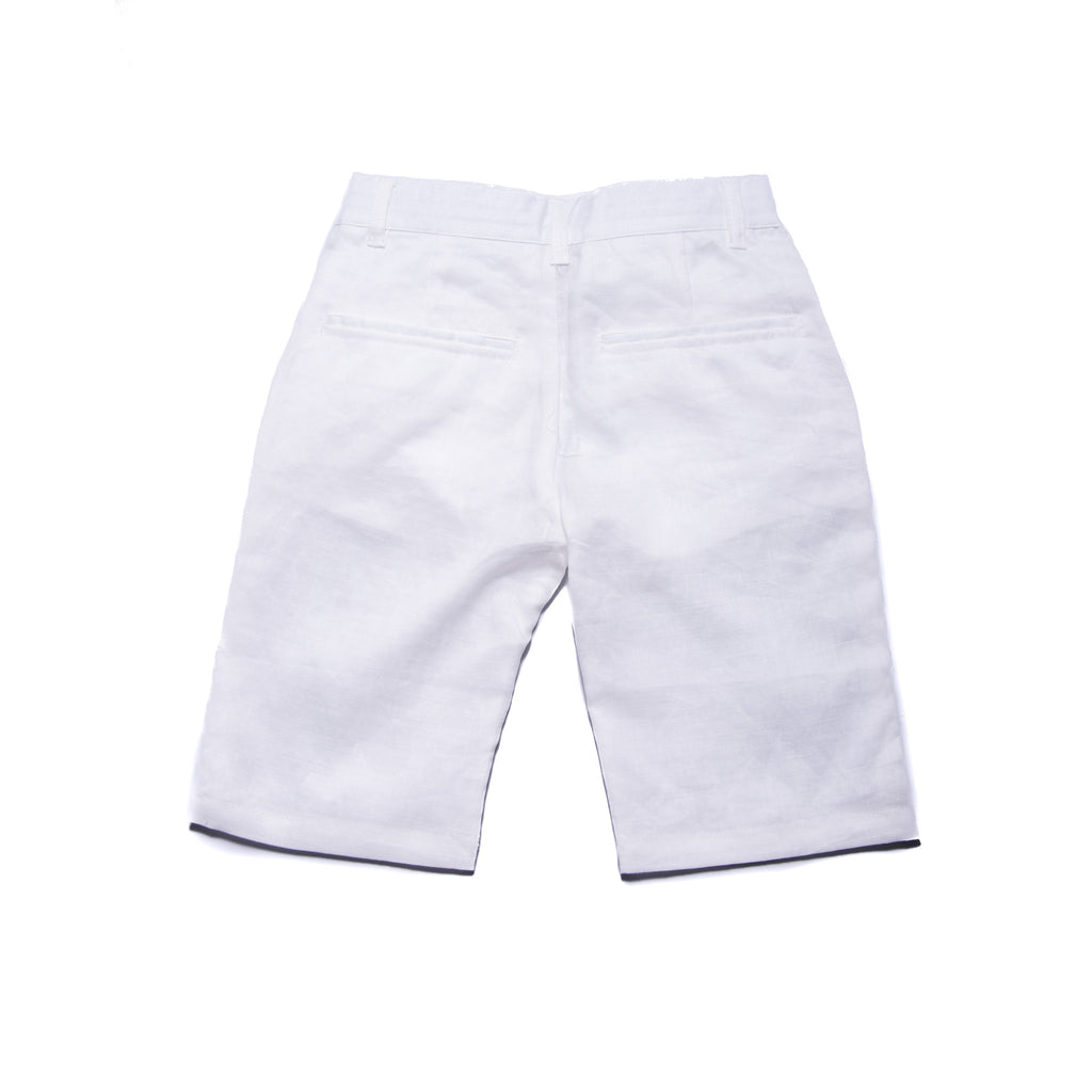 Jones Shorts (White Linen)