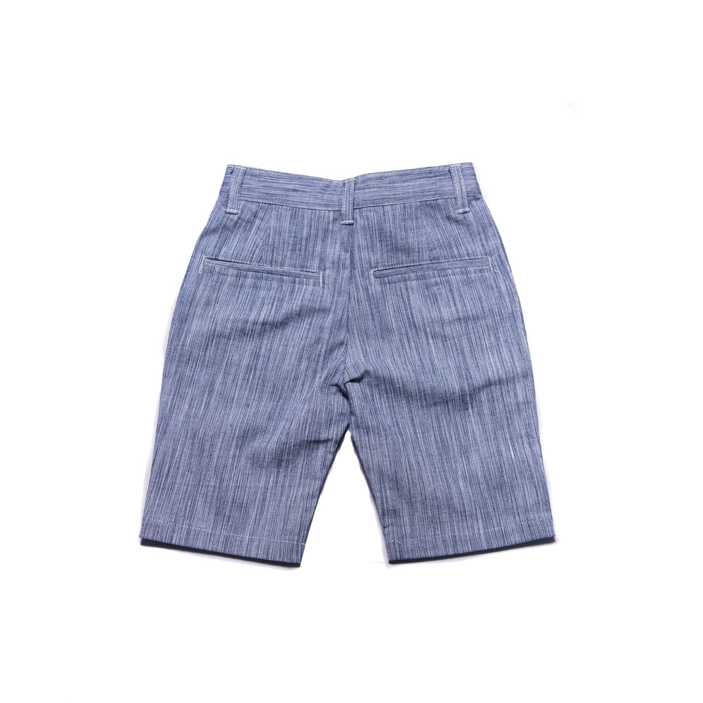 Jones Shorts (Navy Gingham Weave)
