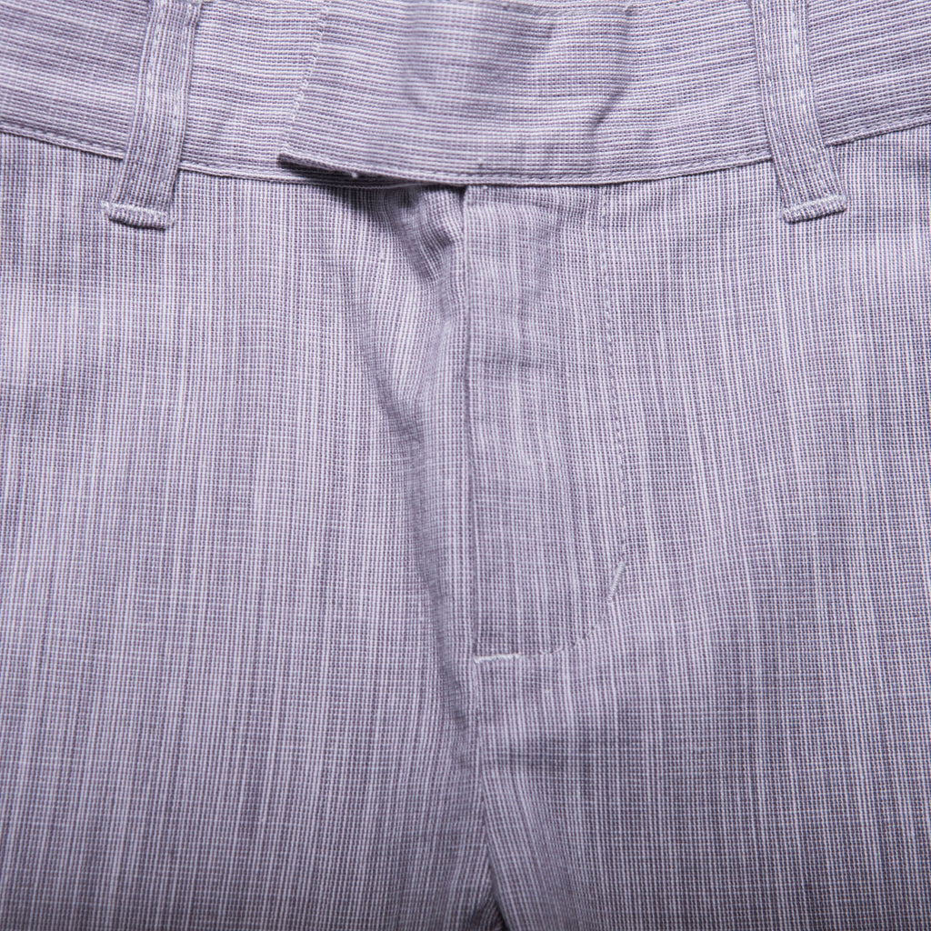 Jones Trousers (Grey Gingham Weave)