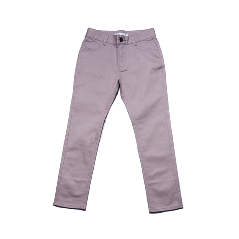 Jerry Trousers (Ecru Grey / Mustard)