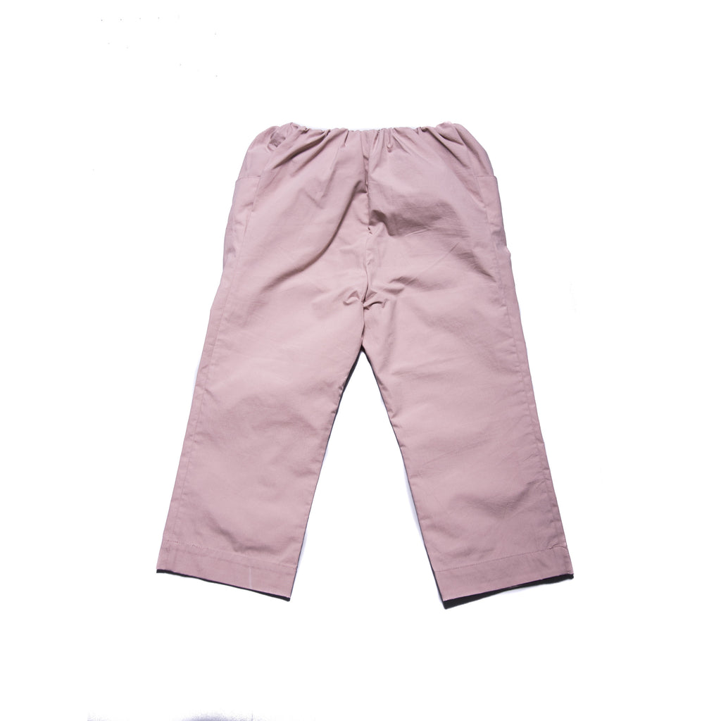 Leigh Crop Trousers (Pale Mauve)
