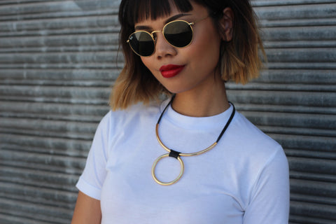 Loop Statement Necklace - Aora Jewellery
