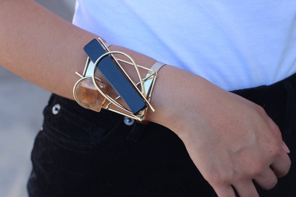 Gold Statement Cuff