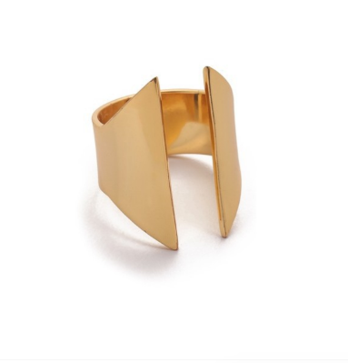 Gold Gap Ring 18k