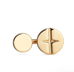 Button Ring 18k Gold Plated