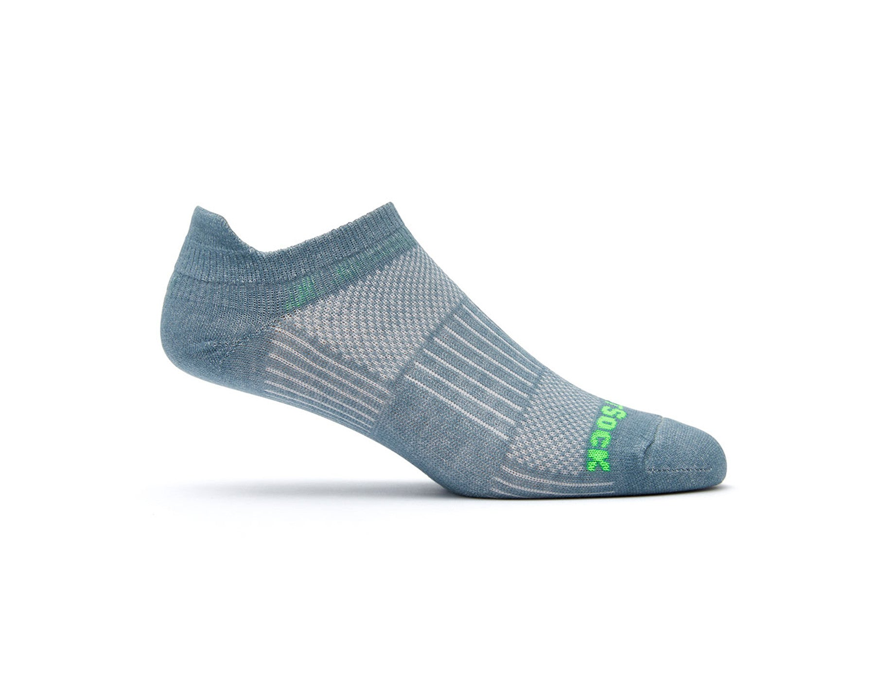 COOLMESH II - TAB - STEEL GREY-Wrightsock Australia