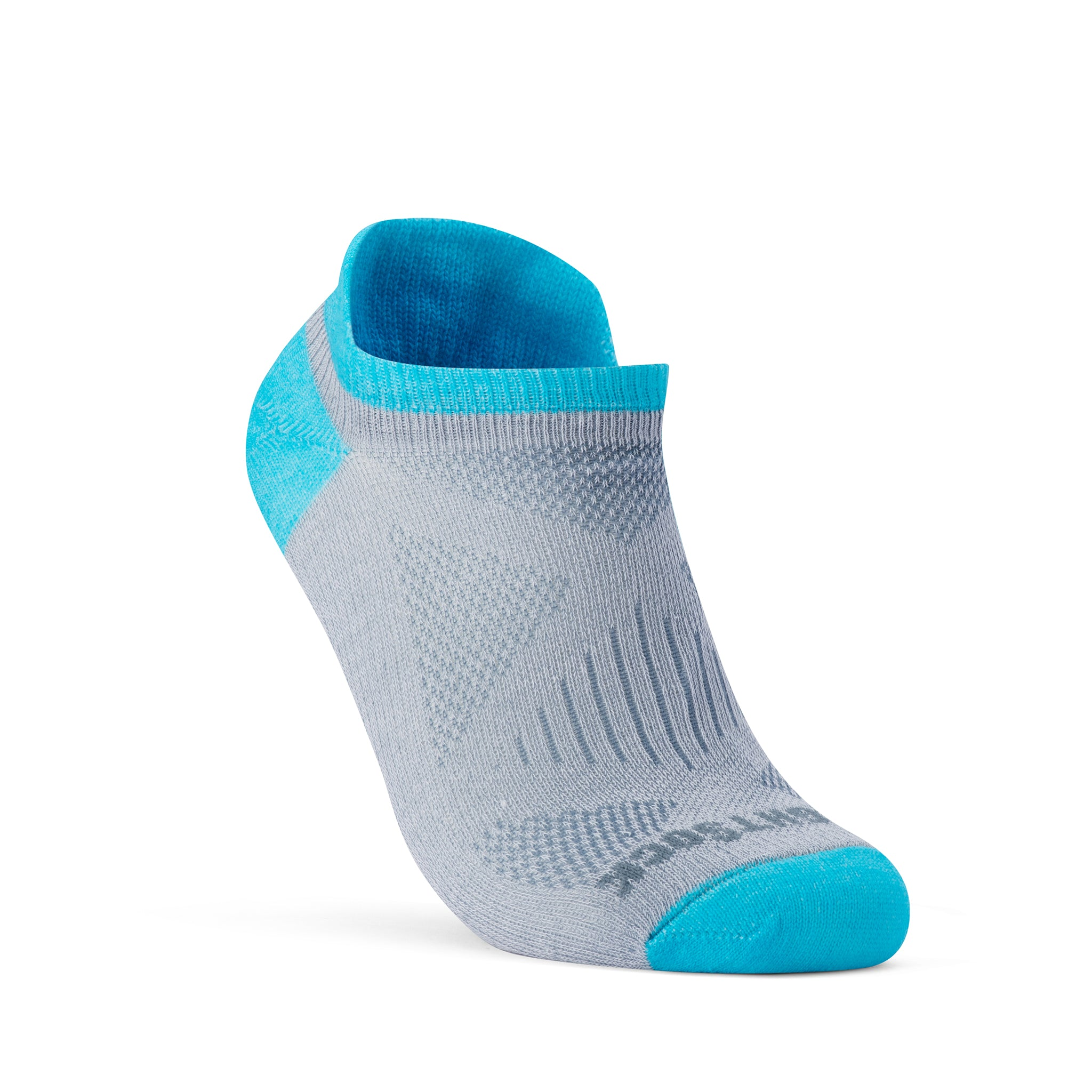 WOMEN'S COOLMESH II NARROW - TAB - GREY SCUBA-Wrightsock Australia