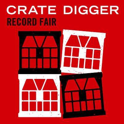 Crate Digger Record Fair at Preston Market - Saturday 4th August