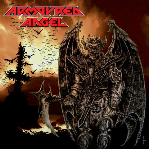 Armoured Angel - Angel of the Sixth Order Re-issue CD