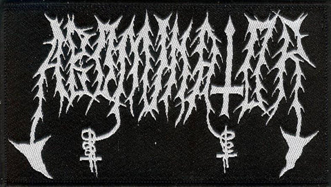 Abominator Old Logo Woven Patch