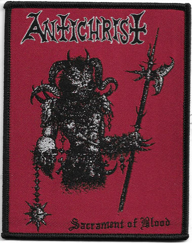 Antichrist - Sacrament Of Blood Woven Patch