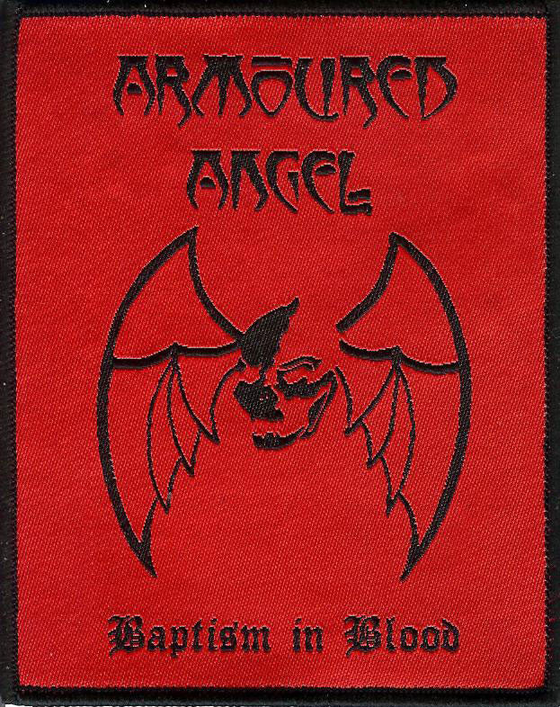 Armoured Angel Baptism Red Patch