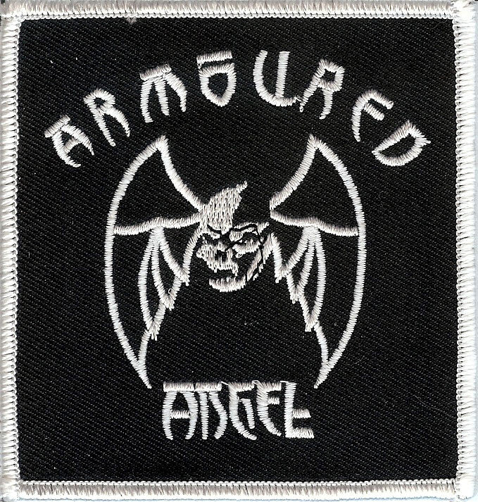 Armoured Angel Baptism embroidered patch
