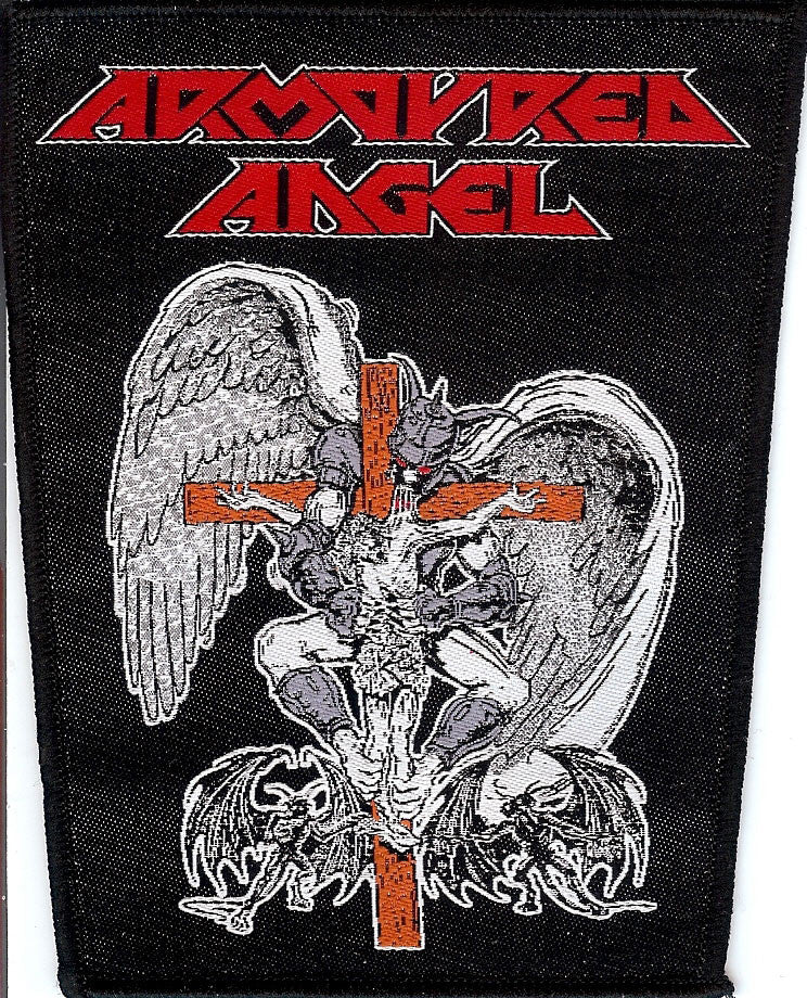 Armoured Angel Communion Patch