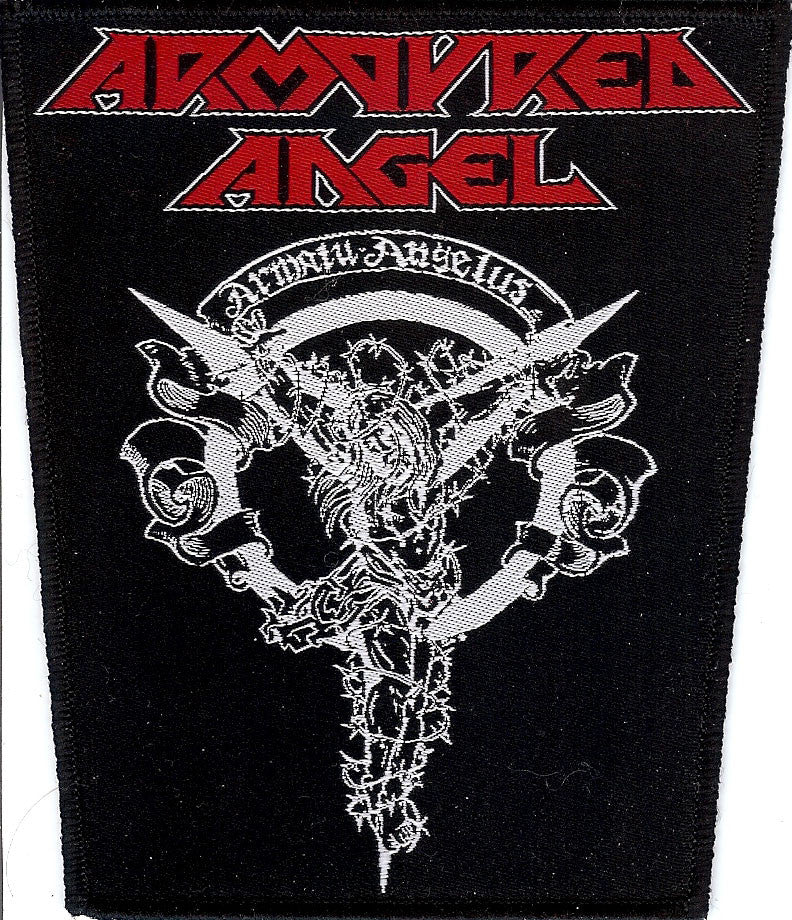 Armoured Angel Crucifiction Patch