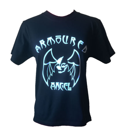 Armoured Angel Baptism Fitted Tee Front
