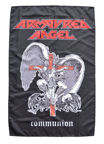 Armoured Angel Communion Textile flag